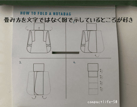 畳み方説明