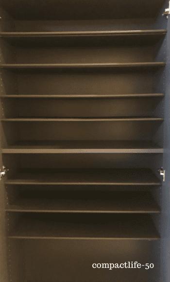 背の高い靴箱