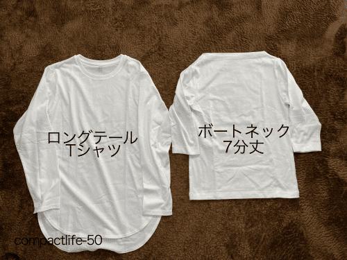 2021年Tシャツ2枚